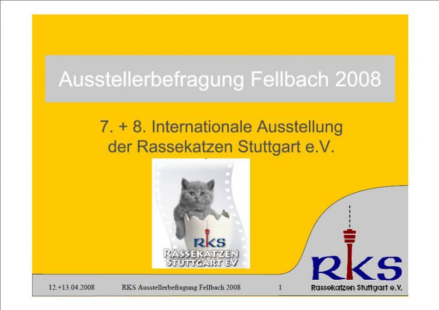 Ausstellerbefragung von Fellbach