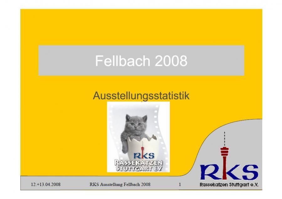 Statistik von Fellbach