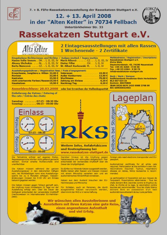 Flyer von Fellbach