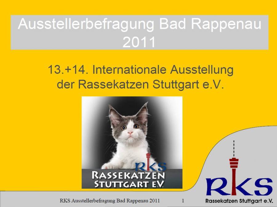Ausstellerbefragung von Bad Rappenau